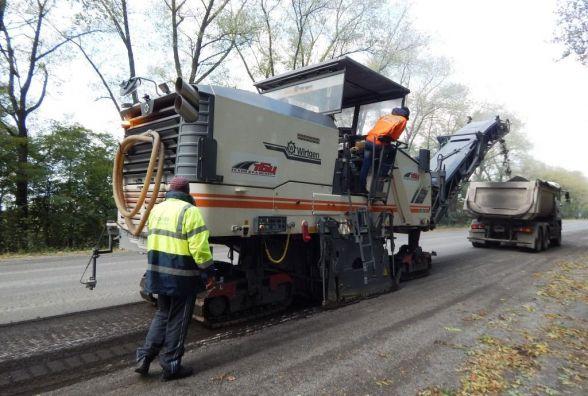Ремонт на дорогах області розпочнуть з траси «Львів-Тернопіль»