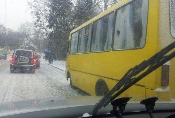 Тернополянин пропонує змінити схему руху на проспекті Злуки