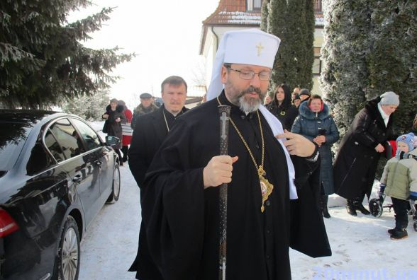 Патріарх УГКЦ Святослав освятив «Рідну хату» Йосифа Сліпого