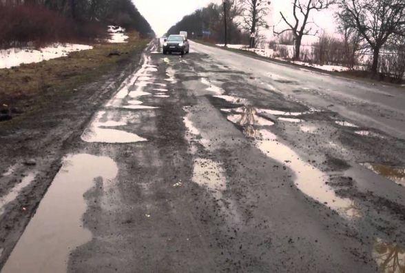 Люди шоковані від дороги Тернопіль - Івано-Франківськ
