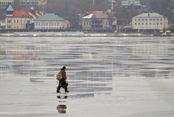Обережно - відлига! Рятувальники просять тернополян не виходити на кригу