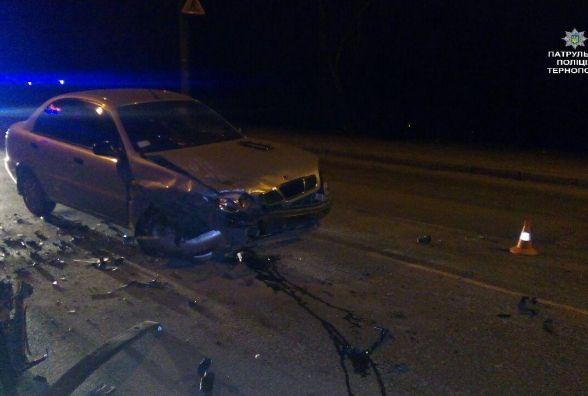 Після аварії патрульним довелось бігти за водієм та пасажирками