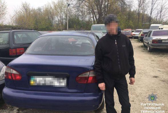 Патрульні виявили два автомобілі, які перебували у розшуку за борги