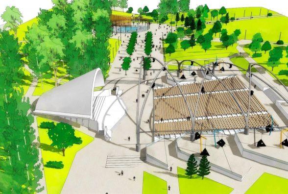 Як може виглядати парк Нацвідродження після реконструкції