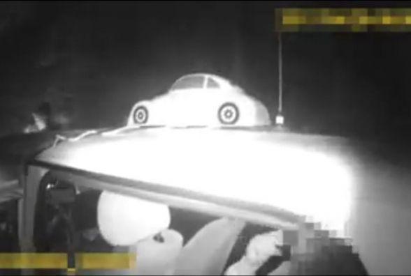Тернопільські патрульні наздоганяли п'яного водія на скутері (ВІДЕО)