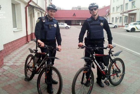 """Тернопільські """"копи"""" пересіли на велосипеди"""