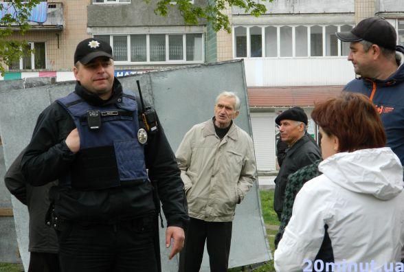 """Міськрада хоче перетворити Тернопіль на """"гетто"""", кажуть протестувальники з бульвару Петлюри"""