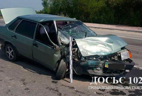 """На Тернопільщині """"ВАЗ"""" протаранив Citroen"""