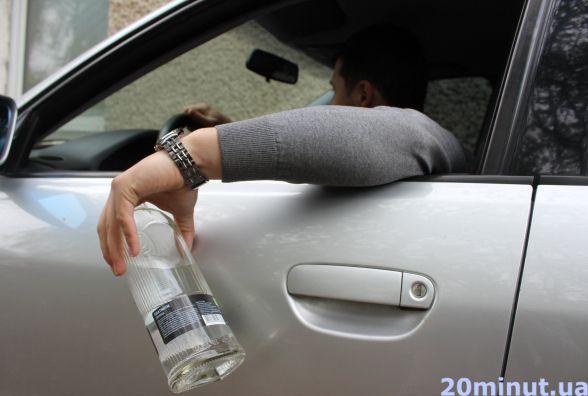Обережно! Ввечері і вночі на дорогах п'яні водії