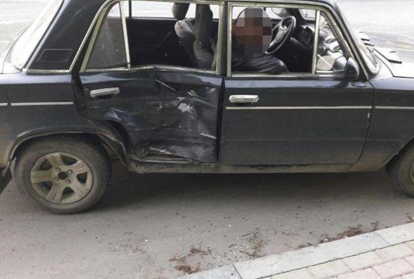 """ДТП у Тернополі: дуже п'яний водій """"Жигуля"""" зіткнувся з """"Мерседесом"""""""