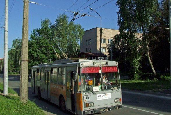 Тролейбус №9 два дні не буде возити тернополян