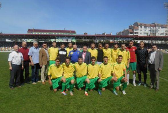 Тернопільські студенти вийшли у фінал футбольного чемпіонату