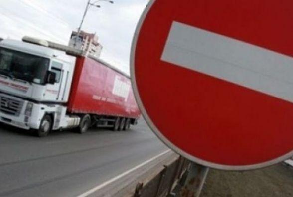 З 1 червня на дорогах Тернопільщини вводиться обмеження на рух вантажівок