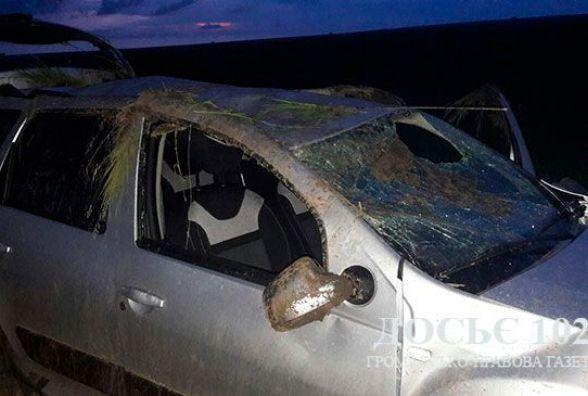 У ДТП на Тернопільщині перекинулося авто. Постраждав киянин