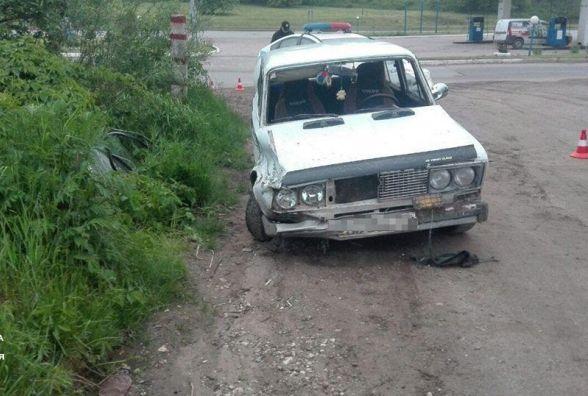 Погоня у Тернополі: п'яний водій вчинив ДТП і почав втікати