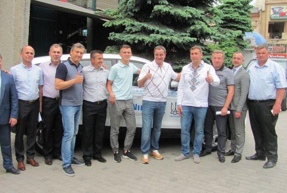 Президент ФФУ Андрій Павелко відкрив у Тернополі новий офіс федерації футболу