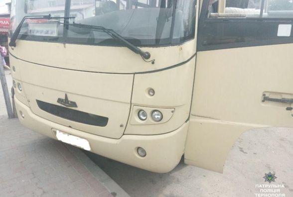 Біля автовокзалу виявили автобус, який перебував у розшуку