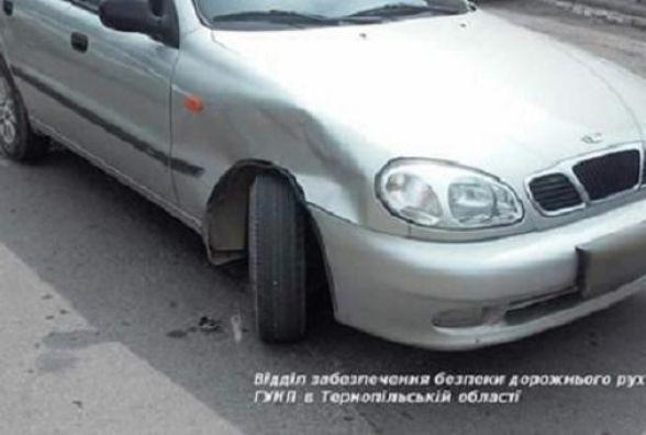 У Підволочиському районі вагітна жінка постраждала в ДТП