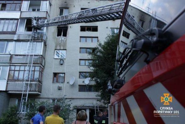 У Березовиці горів 5-ти поверховий будинок: евакуювали 20 людей