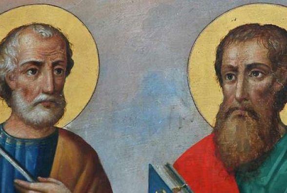 Сьогодні, 12 липня: День апостолів Петра і Павла