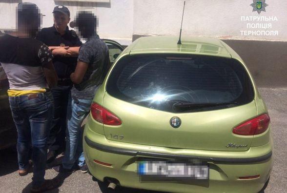 """""""Копи"""" виявили автомобіль Alfa Romeo, який незаконно перебуває на території України"""