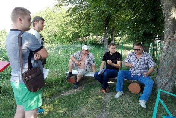 У селі біля Тернополя фермер воює за свій урожай (ОНОВЛЕНО)