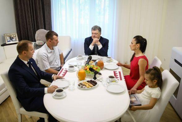 Родина тернопільського атовця розповіла про те, як готувалася до приїзду Президента