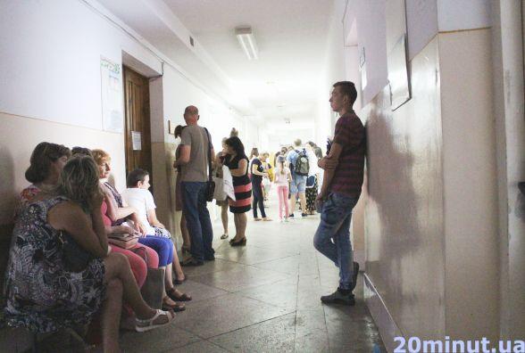 Дитяча поліклініка: в один день у лабораторії  – 40 дітей, у наступний - 126
