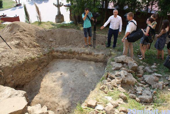 У Тернополі археологи знайшли оборонну стіну ХVI століття