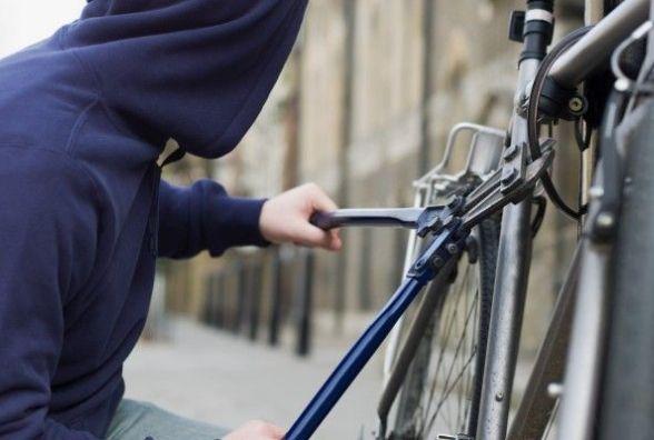 Найчастіше велосипеди крадуть з під'їздів