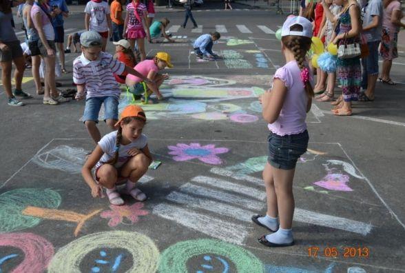 Дитячі розваги до Дня міста Тернополя