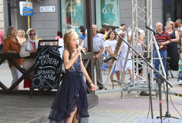 Відео дня: у Центрі дитячий концерт