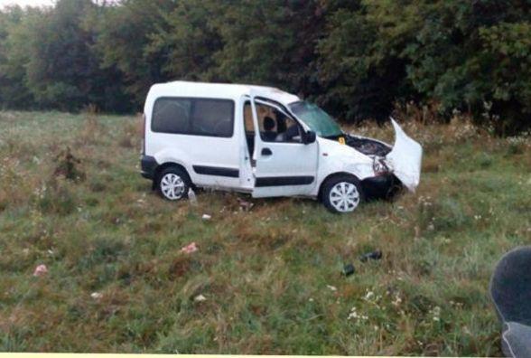 На Тернопільщині перекинувся автомобіль: водій загинув