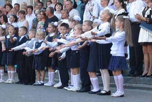 Перший дзвоник у школах Тернополя. Графік