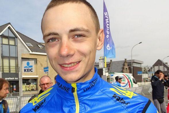 Велосипедист Тарас Шевчук став чемпіоном України