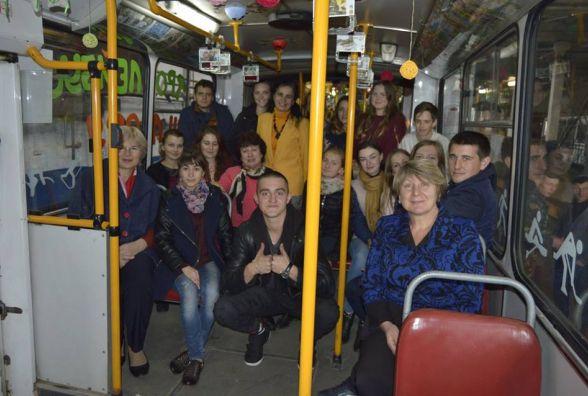 Тернопільський тролейбус вчить як бути здоровим