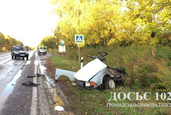 У аварії на Кременеччині загинули троє людей