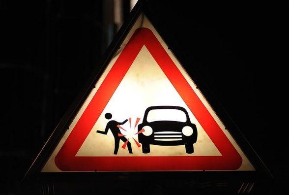 На Микулинецькій водій авто Volkswagen збив п'яного пішохода