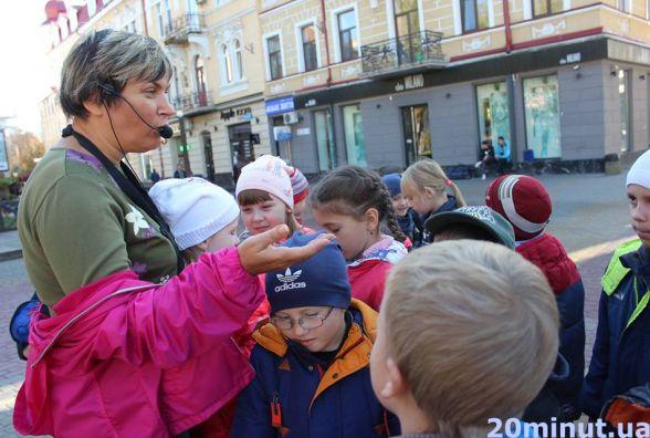Фото дня: Школярам розповідали про історію Тернополя