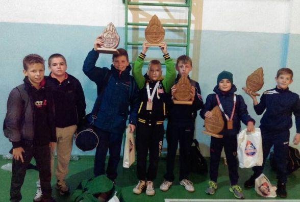У борців греко-римського стилю – п'ять медалей на Всеукраїнському турнірі