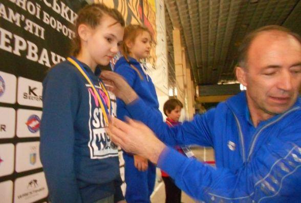 Тернополянка стала призеркою чемпіонату України з вільної боротьби