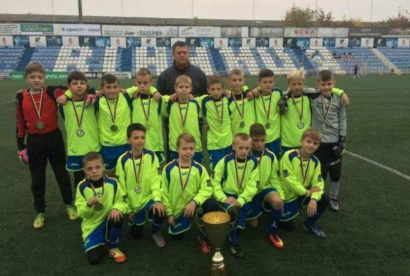 Тернопільські футболісти перемогли на Міжнародному турнірі у Вінниці