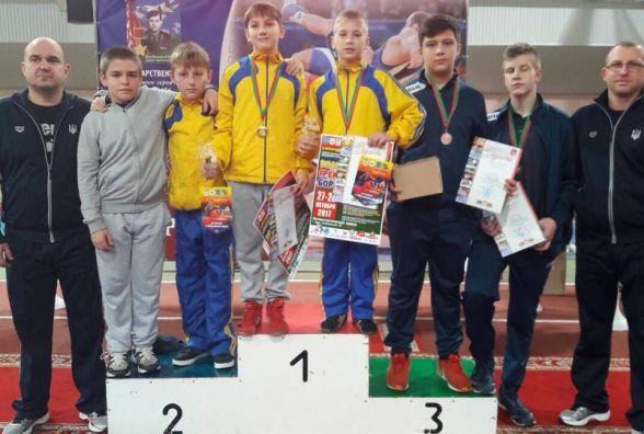 Тернополяни виграли Міжнародний турнір з греко-римської боротьби у Білорусі