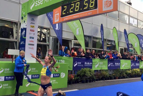 Наталія Легонькова з Бережан виграла марафон у Дубліні