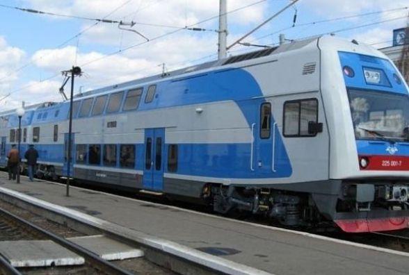 Двоповерховим потягом тернополяни їздитимуть до Києва