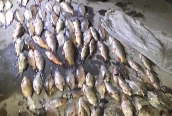 Протягом жовтня інспектори вилучили 57 кг риби та провели 41 рейд
