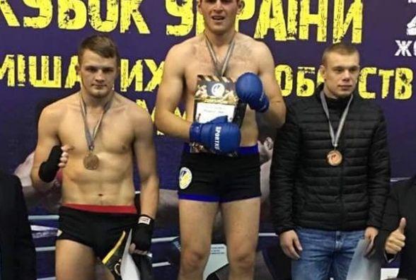Тернополянин завоював Кубок України зі змішаних єдиноборств