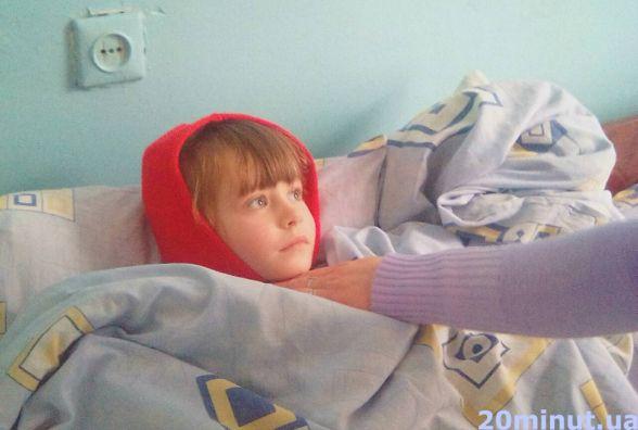В лікарні «Льодовиковий період», каже мама хворої дитини