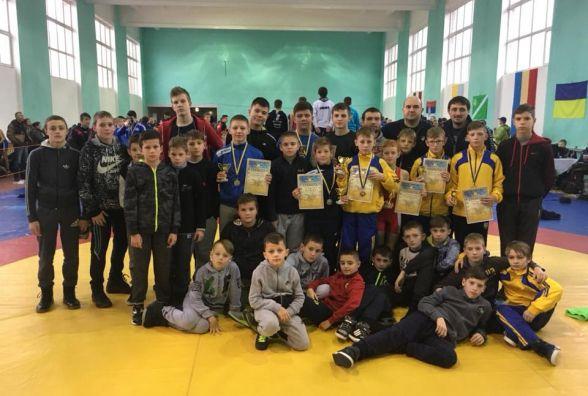 Тернопільські борці стали чемпіонами Міжнародного турніру у Берегово