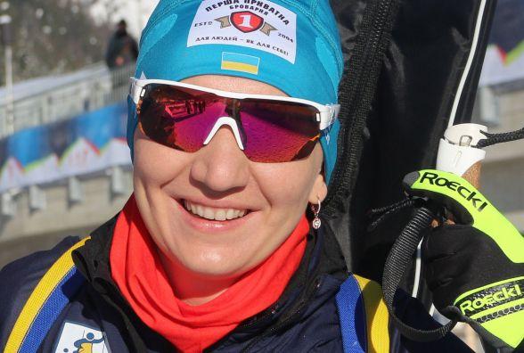 Олена Підгрушна посіла 25-те місце у спринті на Кубку світу